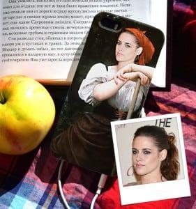 Чехол для iPhone с вашим портретом *Крестьянка* от Долина Подарков