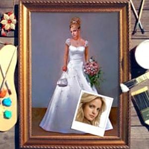 Портрет по фото *Невеста* от Долина Подарков