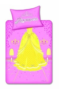 Комплект постельного белья ПринцессаЯркий и необычный комплект постельного белья<br>