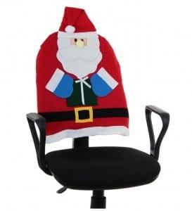 """Чехол на спинку стула """"Дед Мороз"""" от Долина Подарков"""