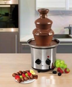 Шоколадный фонтан-фондю (большой)Вкусное развлечение для вечеринки<br>