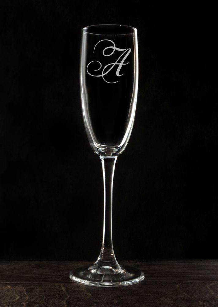 Именной фужер для шампанского