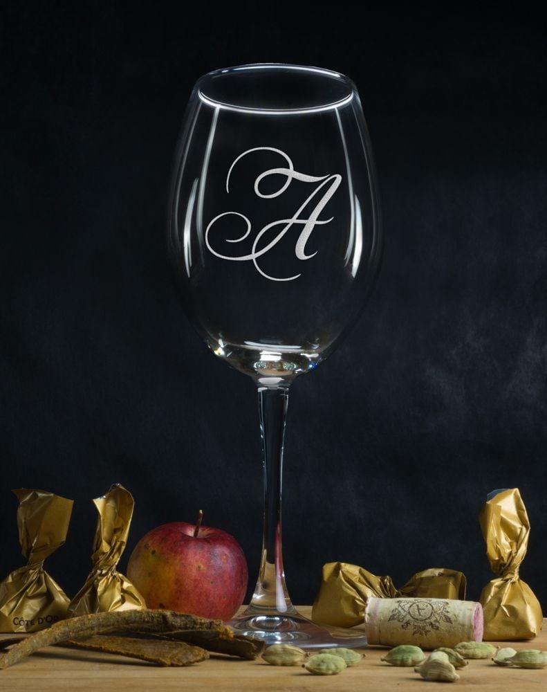 Персональный бокал для вина