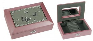 Шкатулка для ювелирных украшений *Бабочки* от Долина Подарков