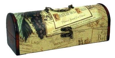 Купить Кофр под бутылку *Сундук* в интернет-магазине подарков. Огромный выбор необычных подарков и сувениров широкого ценового диапазона!