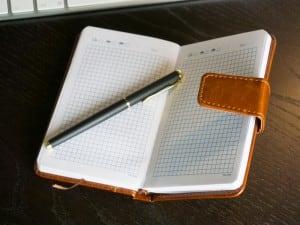 """Именной ежедневник """"Компакт"""" с отделом для денег и карт от Долина Подарков"""