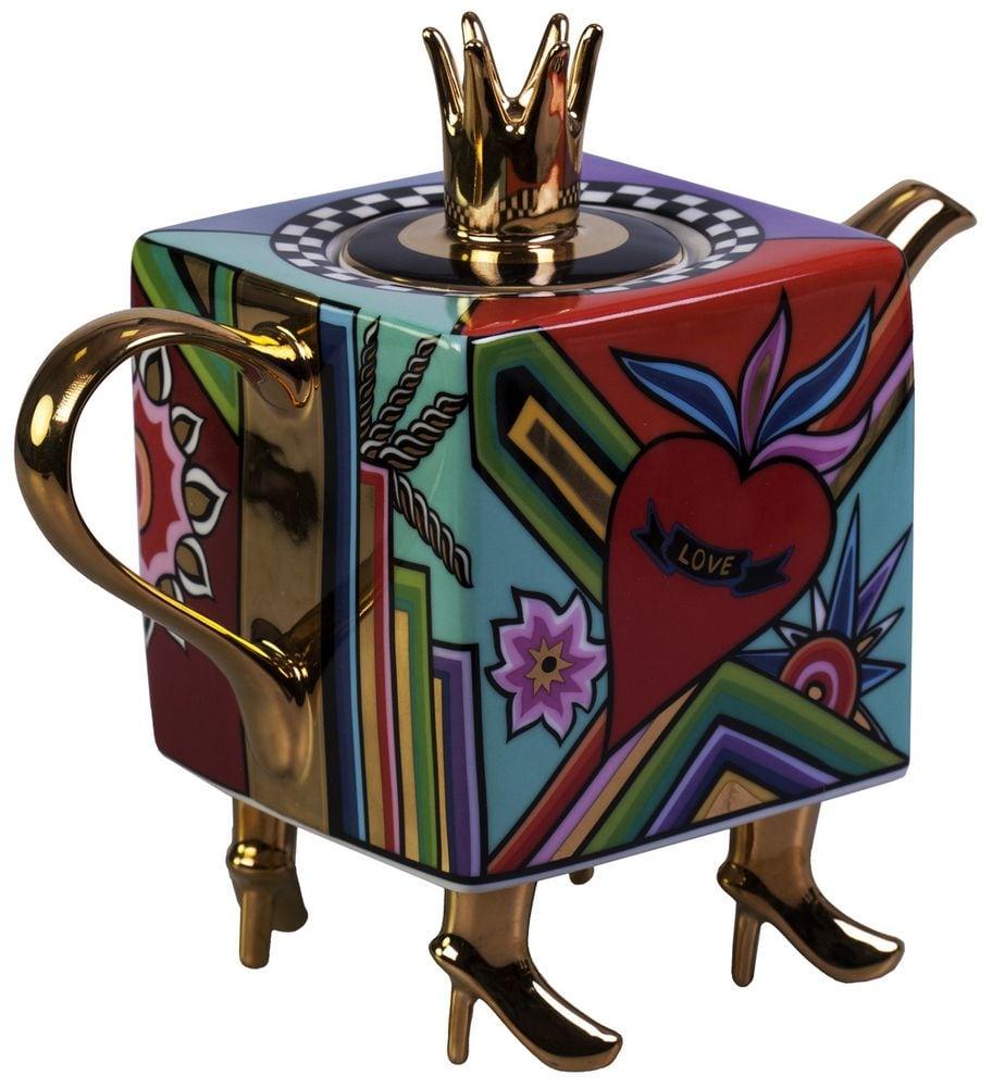 """Купить Дизайнерский чайник """"АртДеко"""" в интернет-магазине подарков. Огромный выбор необычных подарков и сувениров широкого ценового диапазона!"""