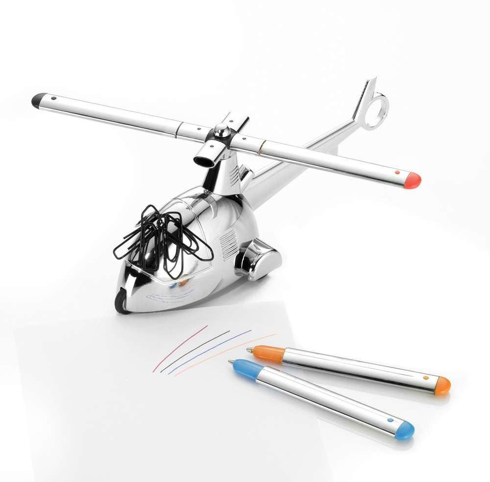 Купить Подставка для ручек Helicopter в интернет-магазине подарков. Огромный выбор необычных подарков и сувениров широкого ценового диапазона!
