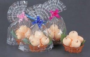 Текстильные яблочки (светлые) от Долина Подарков