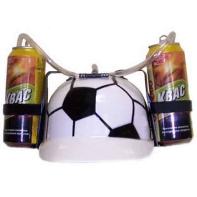Пивная каска футбольная