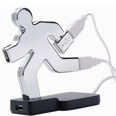 Купить USB хаб *бегущий человек* в интернет-магазине подарков. Огромный выбор необычных подарков и сувениров широкого ценового диапазона!