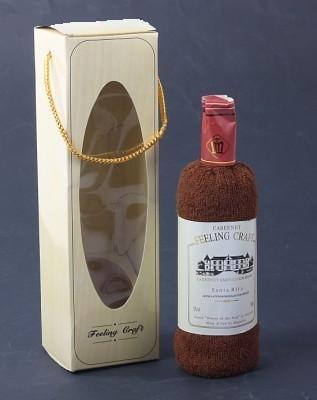 Купить Текстильная бутылка вина в интернет-магазине подарков. Огромный выбор необычных подарков и сувениров широкого ценового диапазона!