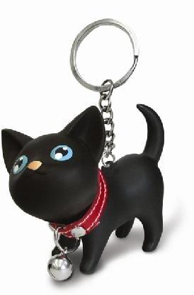 Купить Забавный брелок *Котенок* - черный в интернет-магазине подарков. Огромный выбор необычных подарков и сувениров широкого ценового диапазона!
