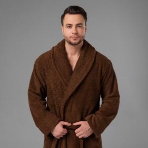 """Мужской халат с вышивкой """"Лучший муж на свете"""""""