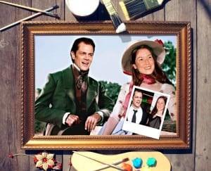 Фото - Парный портрет по фото *Летнее настроение* парный портрет по фото роскошная пара
