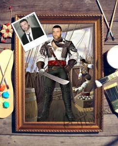 Фото - Портрет по фото *На палубе* портрет по фото на охоте