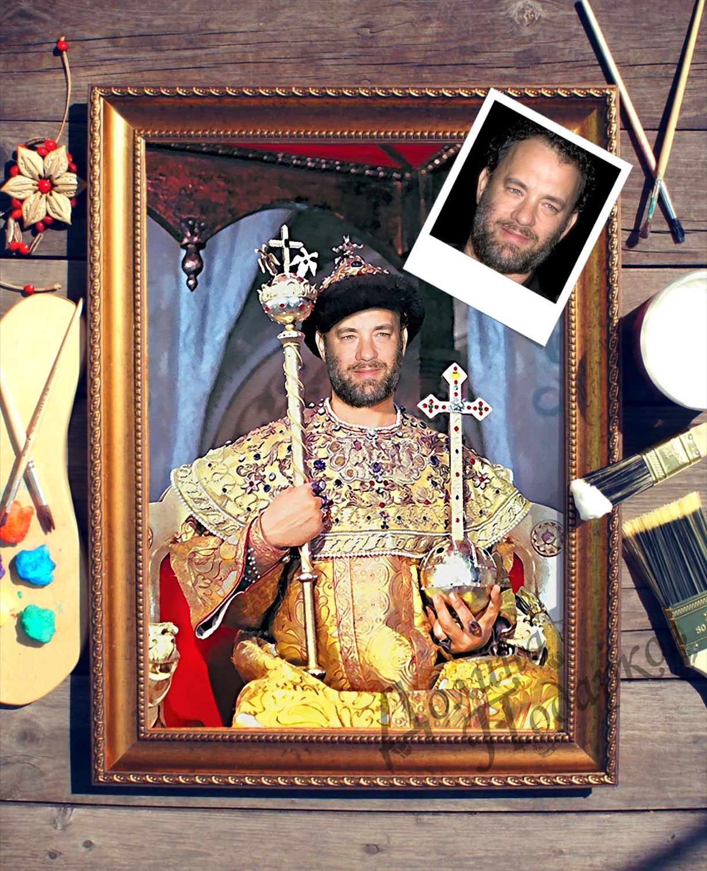 Портрет по фото *Царь*