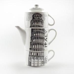 Чайный набор «Пизанская башня» чайный набор