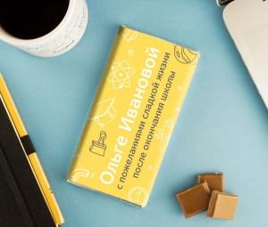 Именная шоколадка «На выпускной! малютка смесь молочная сухая малютка 1 с 0 мес 600 гр