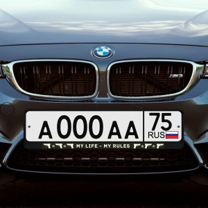 Автомобильная рамка «MY LIFE» цена