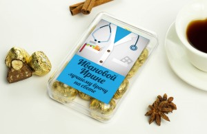 Именной набор конфет Лучшему врачу именной набор конфет для учебы и творчества