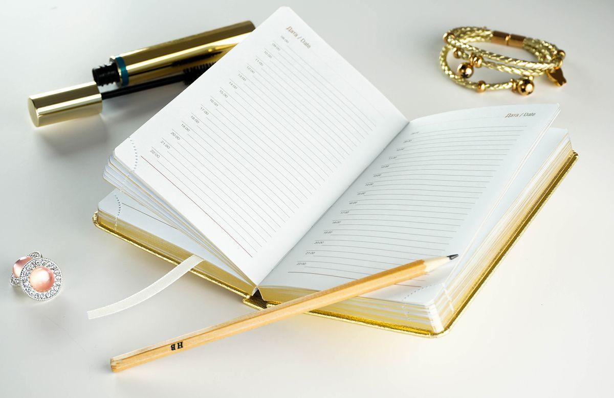 Фирменный ежедневник «Чистое золото»
