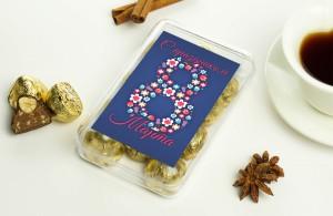 Набор конфет С праздником 8 марта
