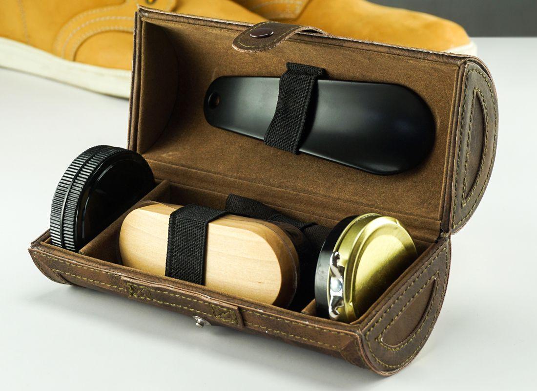 наборы для ухода за обувью в подарок