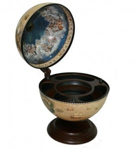 Глобус-бар *Сокровища древнего мира* (настольный) глобус бар напольный с широким основанием