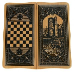 Настольная игра Нарды и шахматы комплект настольных игр шашки шахматы нарды 10 10см