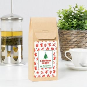 Именной чай «С Новым годом от нас»