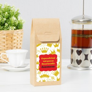 Именной чай «Королевский чай для нее» стоимость