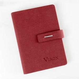 Ежедневник с гравировкой «IN RED» printio стильный аксессуар для офиса