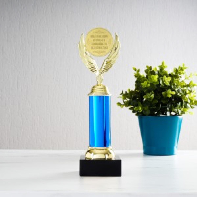 Наградная статуэтка *Нобелевскому лауреату ближайшего десятилетия* наградная статуэтка главному защитнику нашей семьи