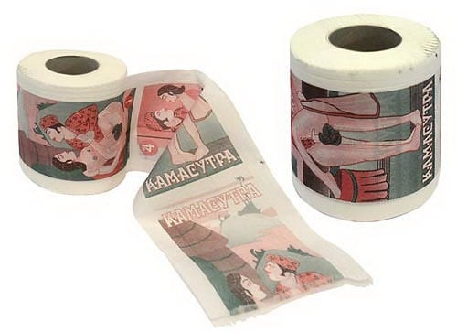 Туалетная бумага *Камасутра*