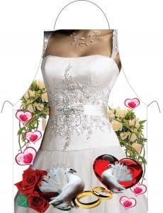 Прикольный фартук *Невеста*