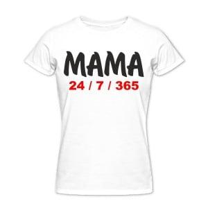 Футболка *Мама 24  7  365*