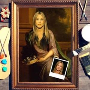 Портрет по фото *Портрет женщины* портрет по фото римская леди