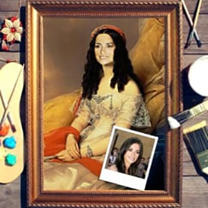 Портрет по фото *Портрет графини* портрет по фото римская леди