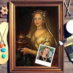 Портрет по фото *О, Женщина!* портрет по фото римская леди