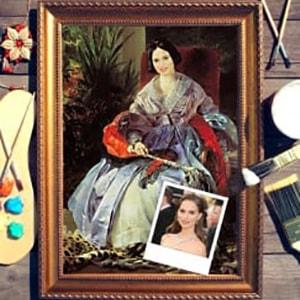 Портрет по фото *Портрет княгини* портрет по фото римская леди