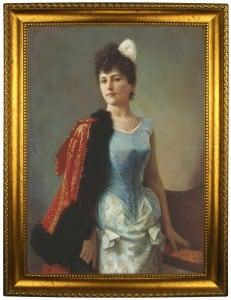 Портрет по фото *Портрет дамы* портрет по фото римская леди