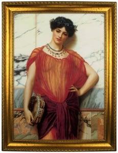 Фото - Портрет по фото *Девушка с бубном* портрет по фото мужчина с шпагой