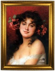 цена Портрет по фото *Молодая красавица* онлайн в 2017 году