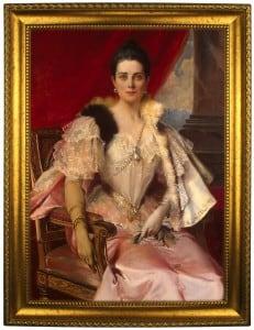 Портрет по фото *Княгиня Юсупова* сайт базылхана юсупова диск