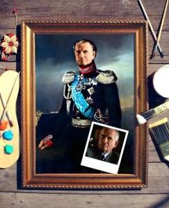 цены Портрет по фото *Князь Васильчиков*