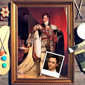 Фото - Портрет по фото *Британский Король* фото