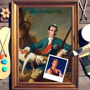 Фото - Портрет по фото *На охоте* портрет по фото на охоте