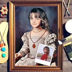 Портрет по фото *Молодая аристократка*