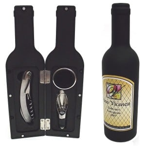 Винный набор *Бутылка вина* wine tools винный набор 5 пр бутылка глянцевая с красной пробкой